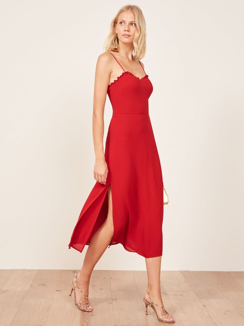 Reformation Cassandra Dress $218