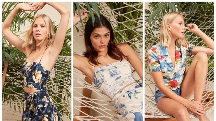 Tropical Vibes: Reformation Launches Hawaiian Collection