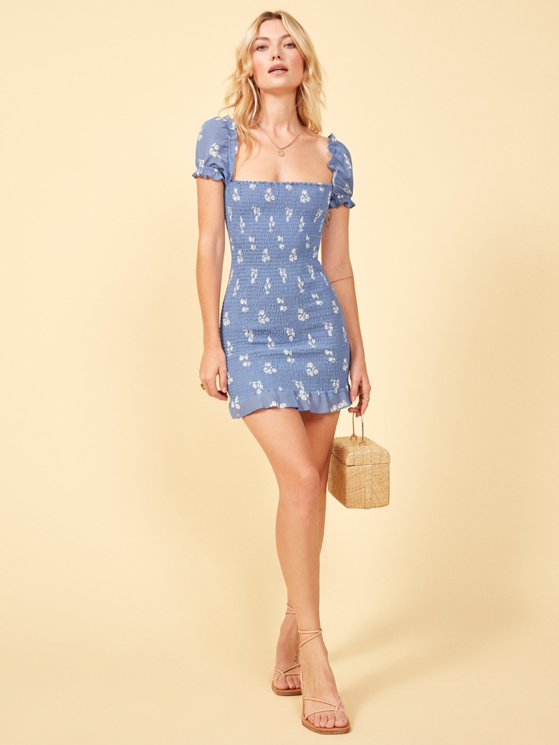 Reformation Minnie Dress in Verona $198
