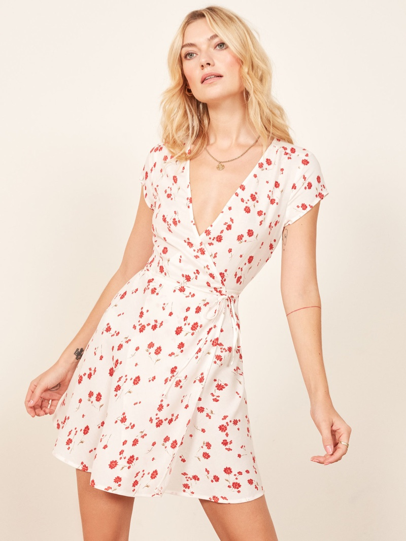 Reformation Ports Dress in Eleanor $98