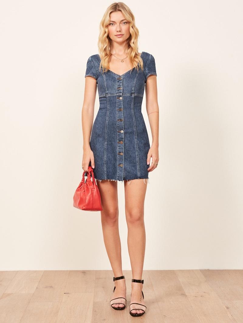 Reformation Roxy Dress $148
