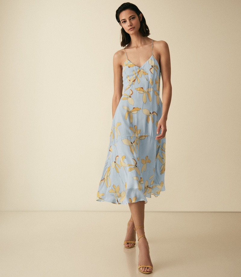 Reiss Alli Floral Strappy Dress $210 (previously $370)
