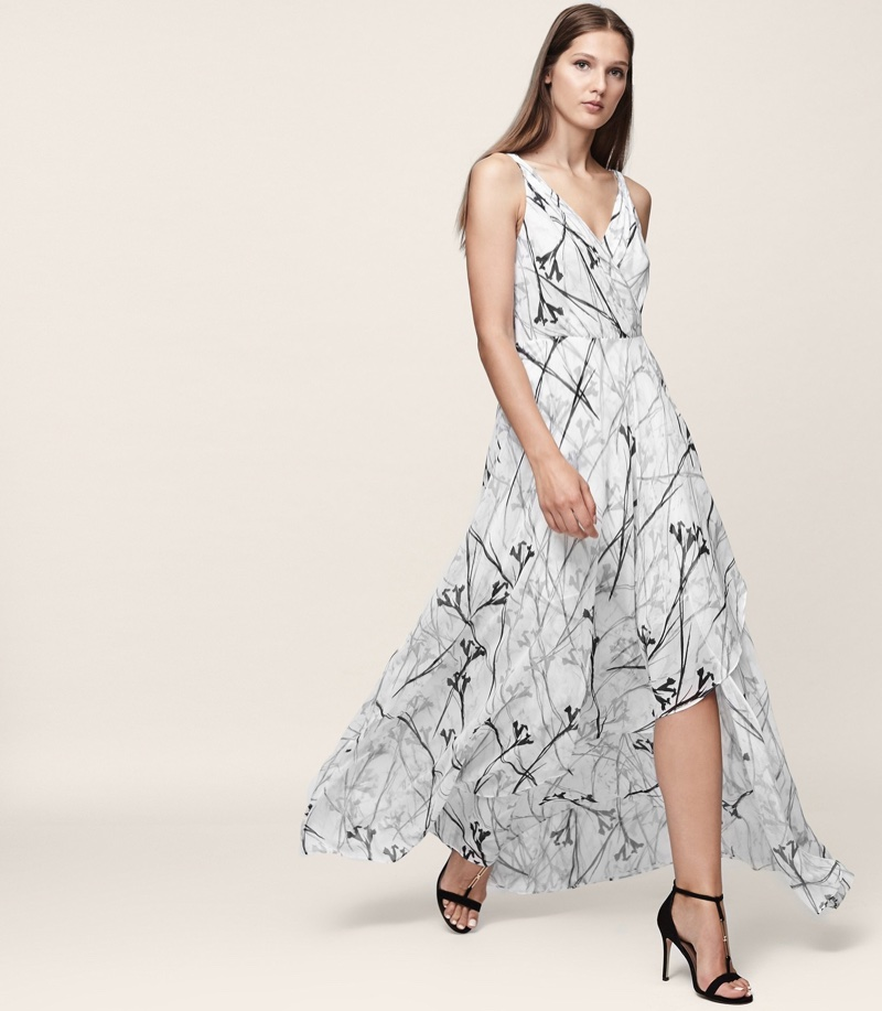 Reiss Elle Printed Maxi Dress $330 (previously $475)