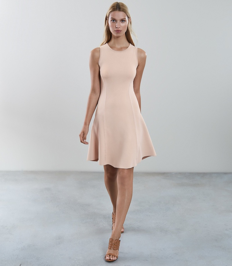 Reiss Millie Knitted Fit and Flare Dress $180 (previously $370)