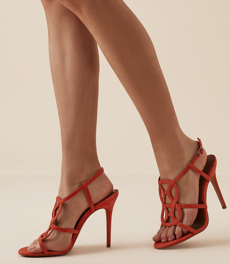 Reiss Pina Knot Detail Sandals $200 (previously $330)