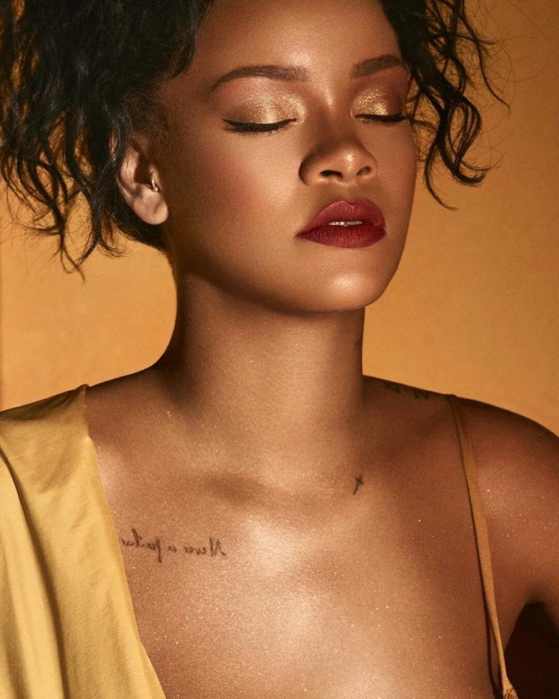Rihanna shines in Fenty Beauty 'Moroccan Spice' campaign