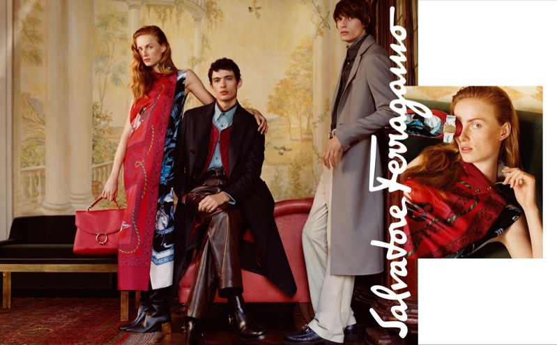 Harley Weir photographs Salvatore Ferragamo fall-winter 2018 campaign