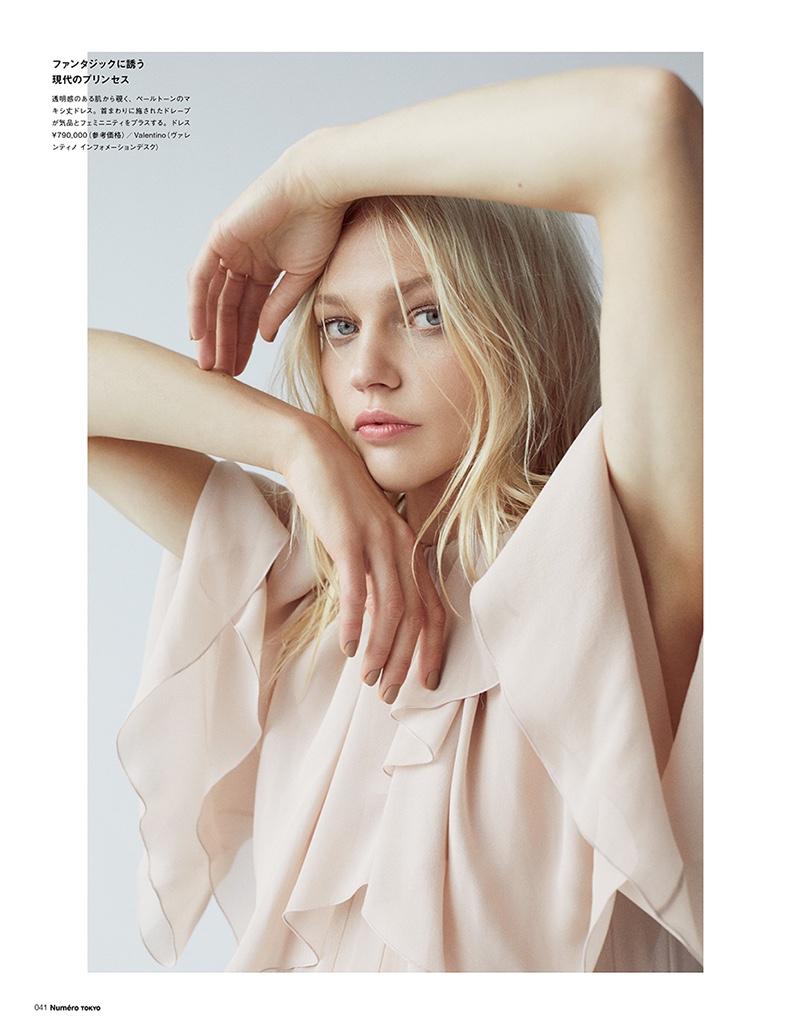 Sasha Pivovarova Models the Autumn Collections for Numero Tokyo