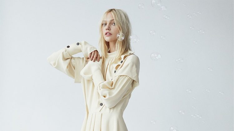 Sasha Pivovarova Models the Autumn Collections for Numero Tokyo
