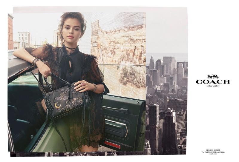 Selena Gomez stars in Coach's fall-winter 2018 campaign