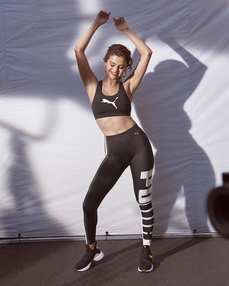Singer Selena Gomez fronts PUMA Defy Mid sneaker campaign