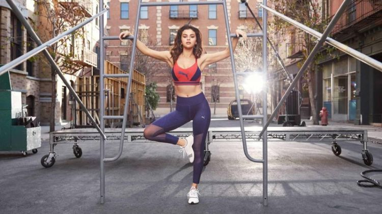 Selena Gomez appears in PUMA Amp XT sneaker campaign