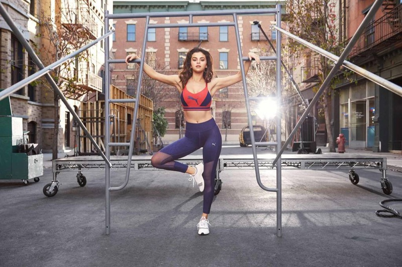 Selena Gomez Flaunts Her Figure for Latest PUMA Campaign