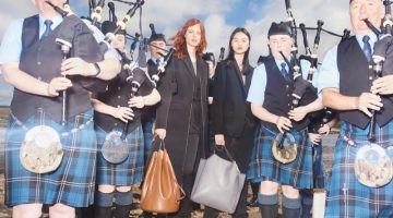 Stella McCartney Travels to Scotland for Fall 2018 Campaign