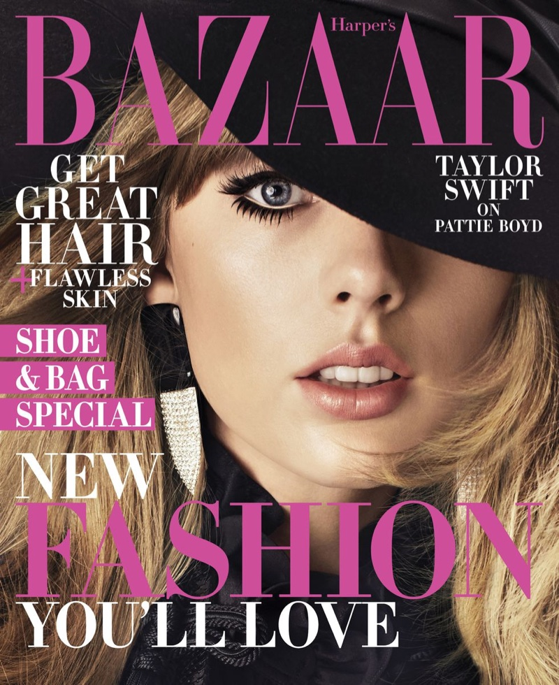 Taylor Swift on Harper's Bazaar US August 2018 Cover