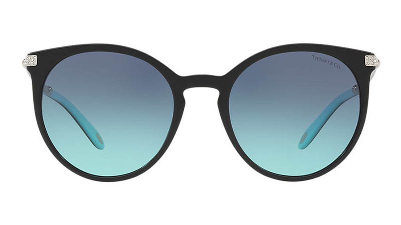 Tiffany & Co. Hardwear Sunglasses in Black/Blue $380