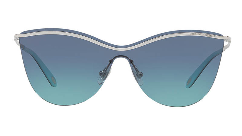 Tiffany & Co. Tiffany 1837 Sunglasses in Silver/Blue $340