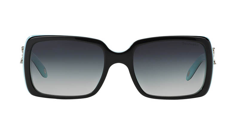 Tiffany & Co. Tiffany Victoria Sunglasses in Black/Grey $340