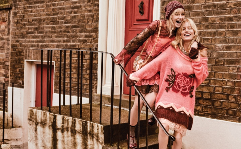 Twinset taps Georgia May Jagger and Suki Waterhouse for fall-winter 2018 campaign