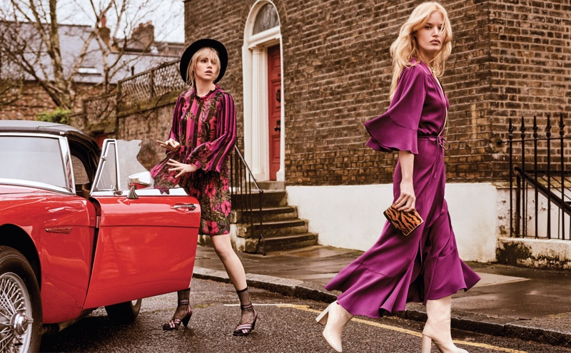 Twinset spotlights magenta style for fall-winter 2018 campaign