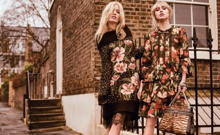 Georgia May Jagger and Suki Waterhouse star in Twinset fall-winter 2018 campaign
