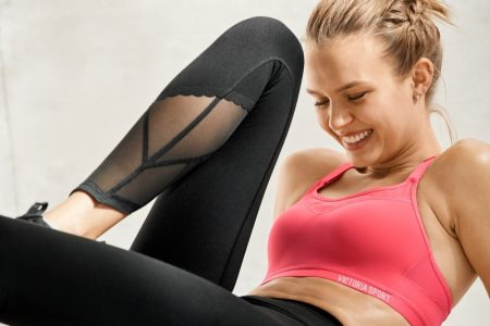 Josephine Skriver, Stella Maxwell Work Out in Style for Victoria Sport