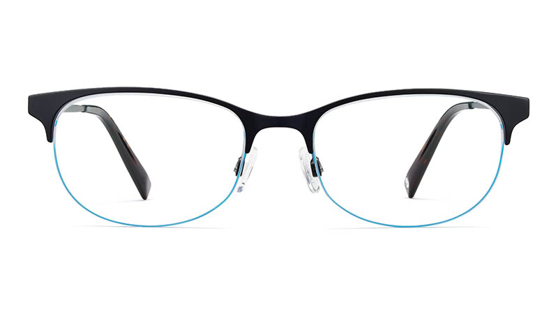 Warby Parker Clare Glasses in Brushed Ink $145