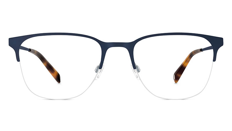 Warby Parker Wallis Glasses in Brushed Navy $145