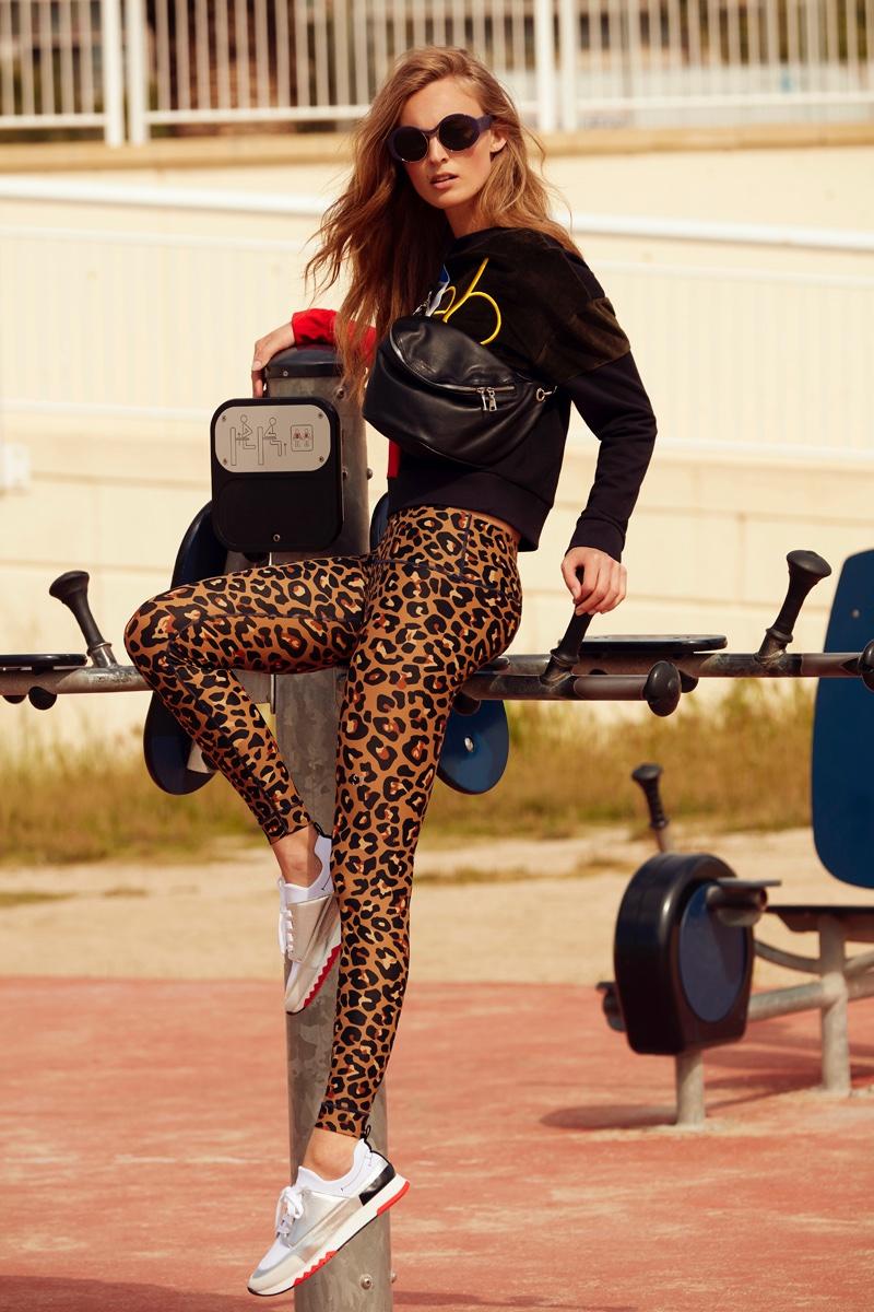 Ymre Stiekema Looks Sporty Chic in Myself Germany