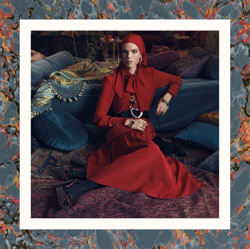 Meghan Collison stars in Zara fall-winter 2018 campaign