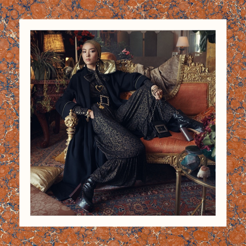 Fei Fei Sun stars in Zara fall-winter 2018 campaign