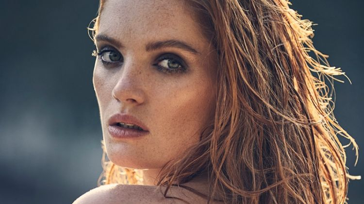 Alexina Graham Turns Up the Heat in Paris Match