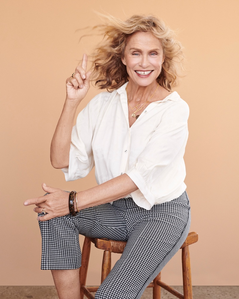 Anthropologie taps Lauren Hutton for fall 2018 Portrait of a Woman campaign