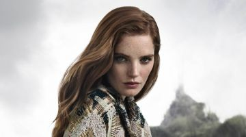 Alexina Graham Goes Into the Woods for Aquascutum Fall 2018 Campaign