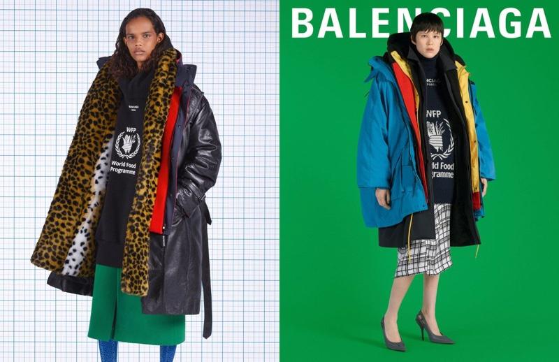 Balenciaga launches fall-winter 2018 campaign