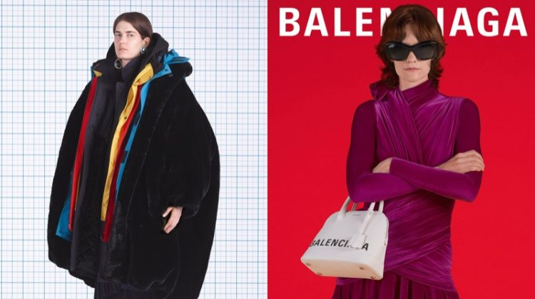 Eliza Douglas and Martina Almquist front Balenciaga fall-winter 2018 campaign
