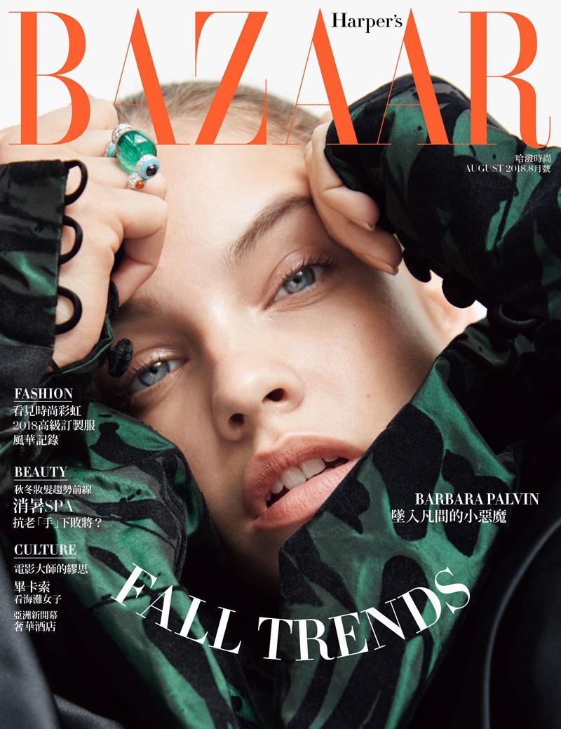 Barbara Palvin Takes the Spotlight in Harper's Bazaar Taiwan