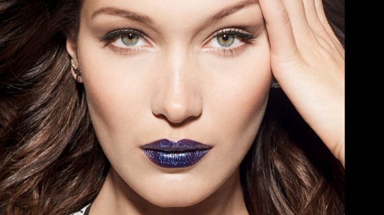 Bella Hadid Wows in Dior Makeup for Vogue China