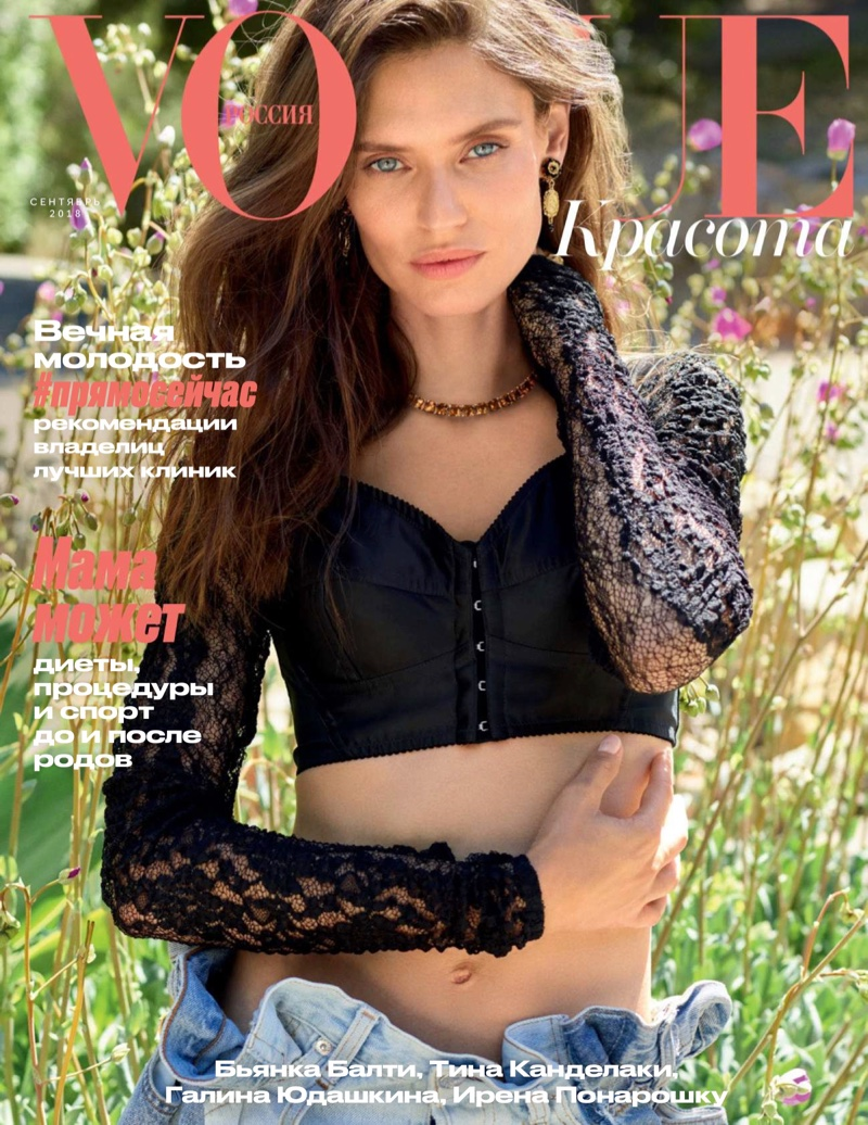 Bianca Balti Models Dreamy Boho Styles for Vogue Russia