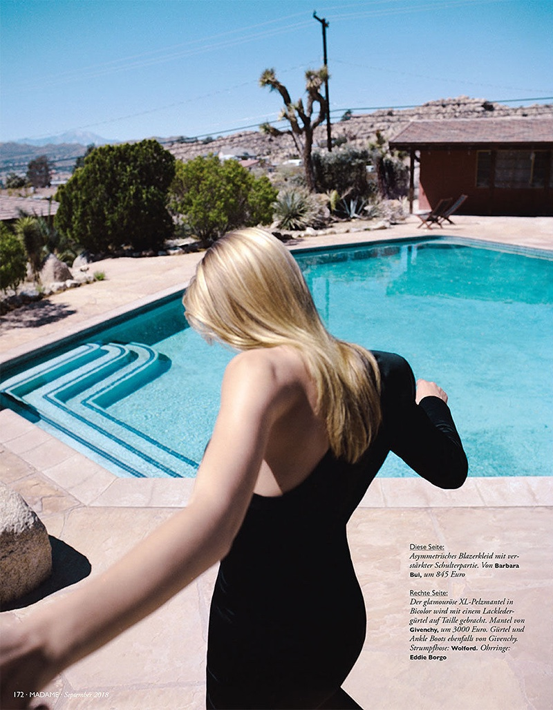 Bregje Heinen Soaks Up the Sun in Palm Springs for Madame Germany