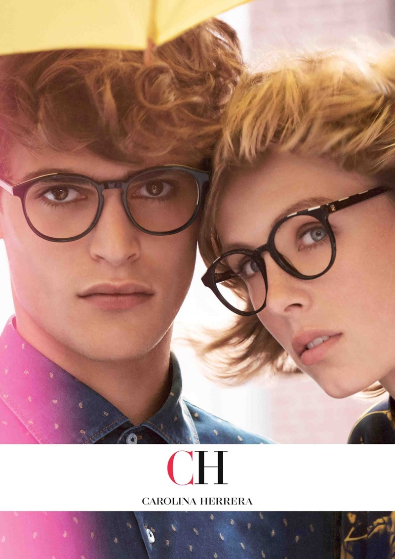 Carolina Herrera focuses on eyewear for fall-winter 2018 campaign