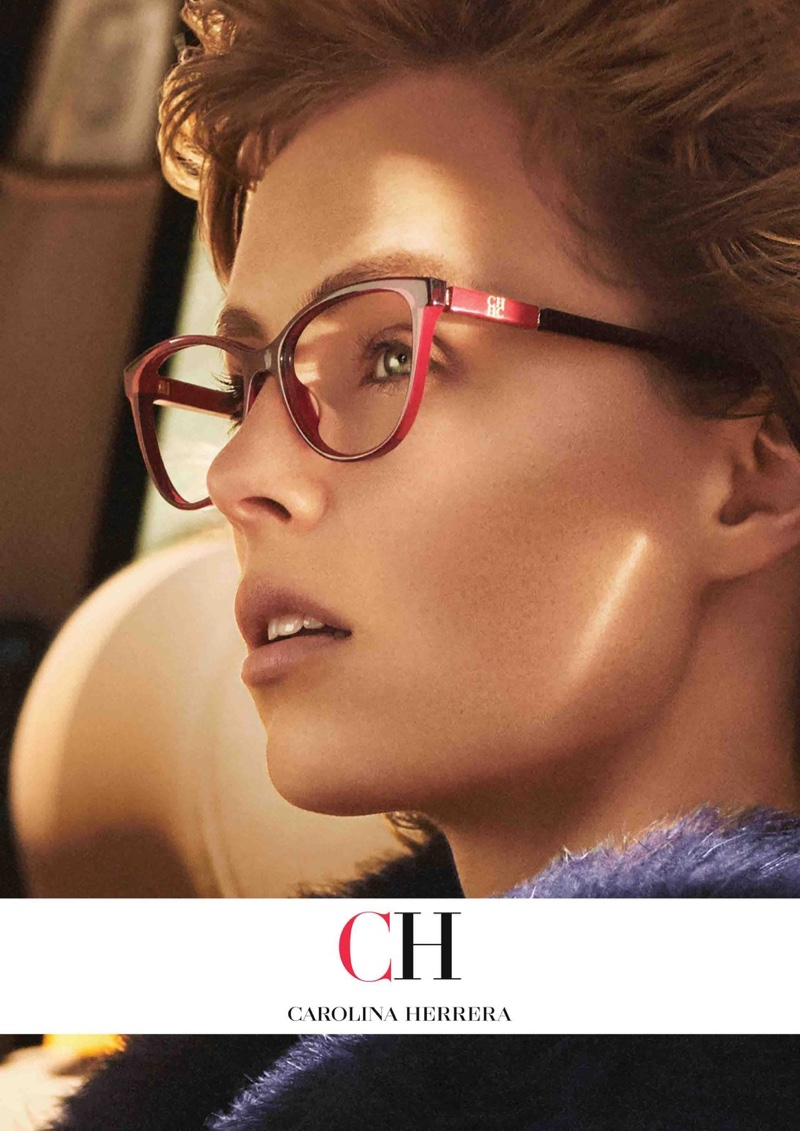 A photo from Carolina Herrera's fall 2018 Eyewear campaign