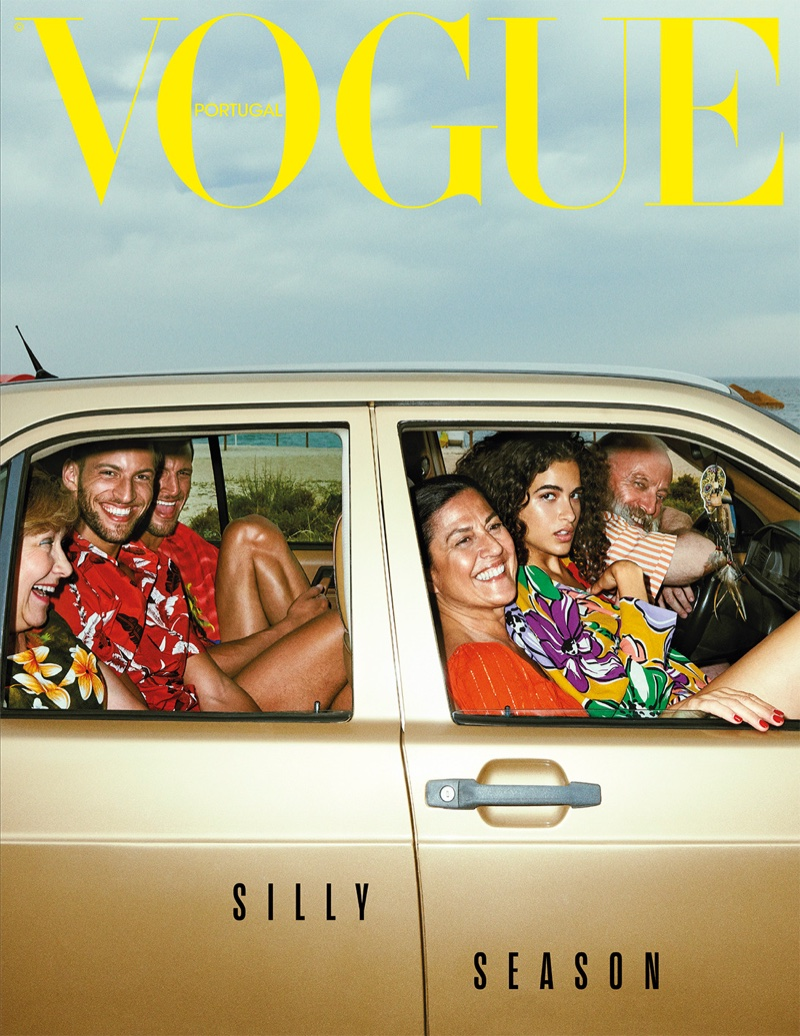 Chiara Scelsi Goes On a Fashionable Road Trip for Vogue Portugal