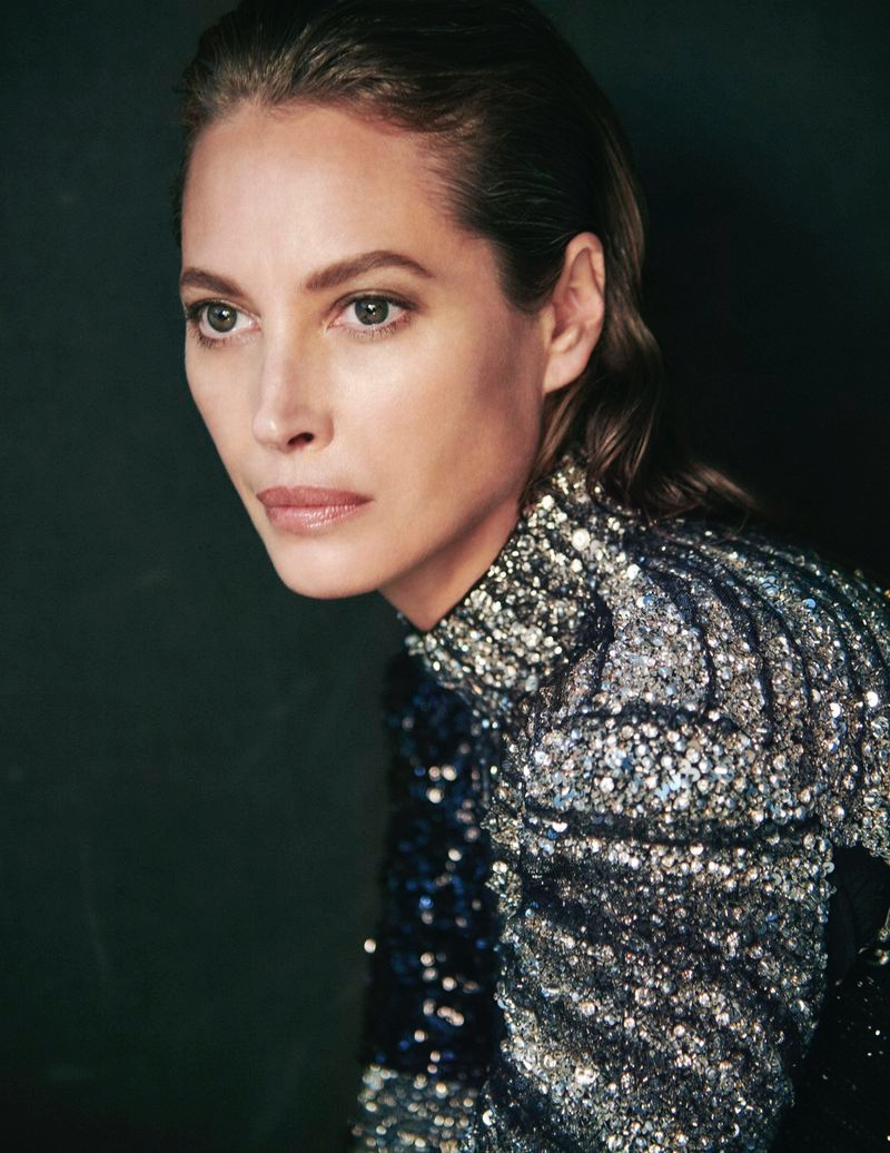 Christy Turlington Models Luxe Autumn Looks for InStyle