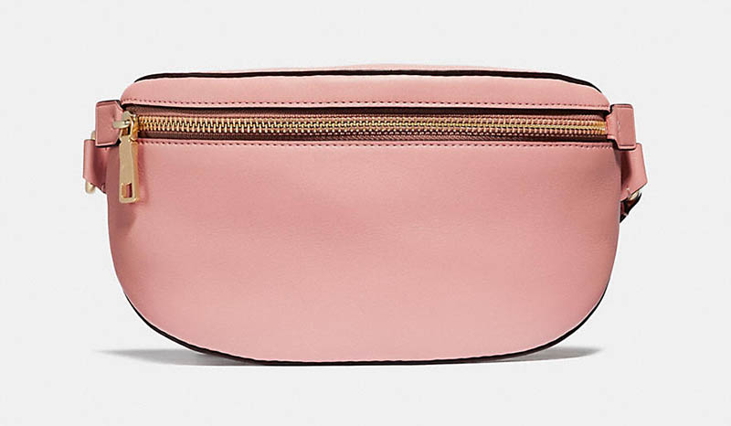 Coach x Selena Gomez Belt Bag in Peony $195
