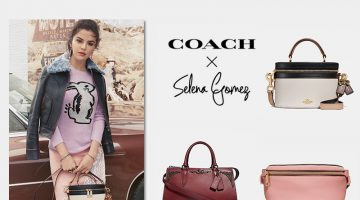 Coach x Selena Gomez fall 2018 collaboration