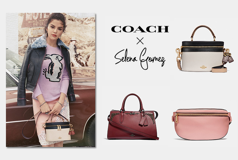 9994c3f9f Selena Gomez x Coach | Fall 2018 | Bags & Clothing | Shop | Fashion ...