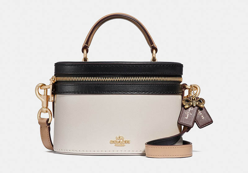 Coach X Selena Gomez Trail Bag In Colorblock 295