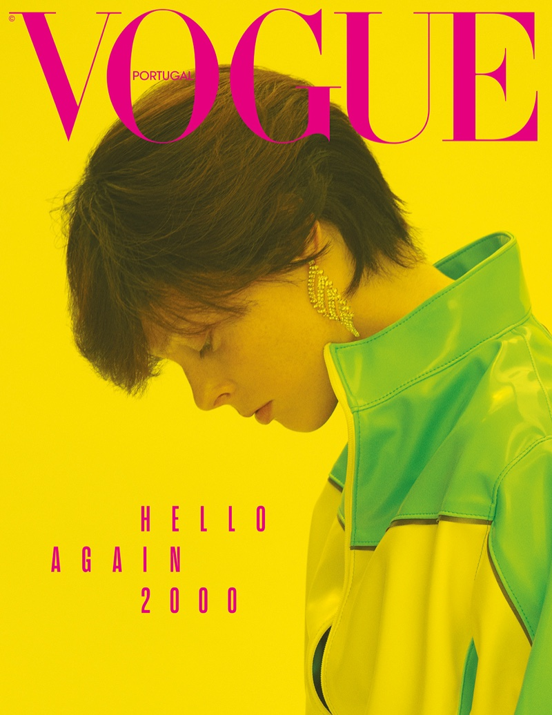 Coco Rocha Channels Throwback Style for Vogue Portugal