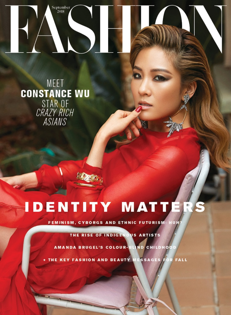 Constance Wu Fashion Magazine 2018 Cover Photoshoot